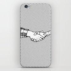 Man and Machine iPhone & iPod Skin