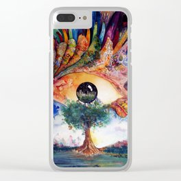 Truth of Consequences Clear iPhone Case