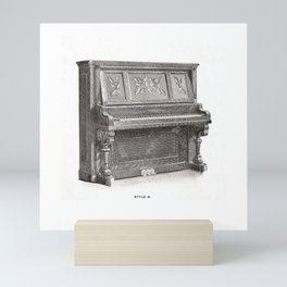 Kimball Piano 11 Mini Art Print