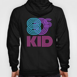 Retro Born in the 1980s Vintage Rad 80s Kid Eighties Party Hoody