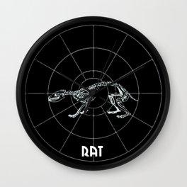 Rat Animal Totem Wall Clock