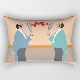 Time Travel Rectangular Pillow