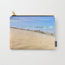 """Levante sea"" Tarifa beach at sunrise Carry-All Pouch"