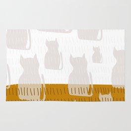 Coit Cat Pattern 4 Rug