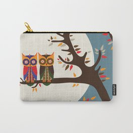 Love Owls Carry-All Pouch