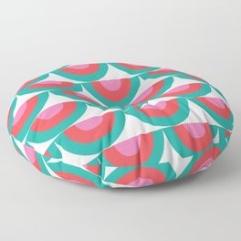 WATERMELON RADISH PATTERN Floor Pillow