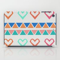 knit iPad Cases featuring Heart Knit  by minniemorrisart