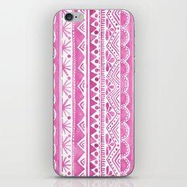 Watercolor tribal pattern iPhone Skin