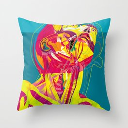 Anatomy 210914 Throw Pillow