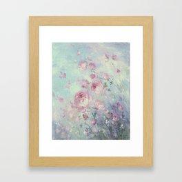 Dancing Petals Framed Art Print
