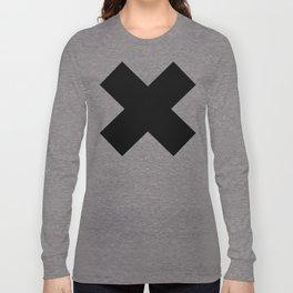 X BLACK Long Sleeve T-shirt