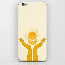 Holding the Light iPhone Skin