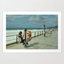Canarian Exercise Art Print