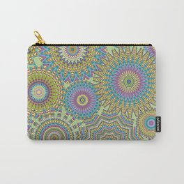 Kaleidoscopic-Jardin colorway Carry-All Pouch