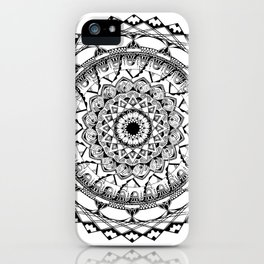 Mandala 4 iPhone Case