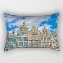 The Grote Markt in Antwerp, Belgium Rectangular Pillow