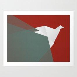 Paper Dove Art Print