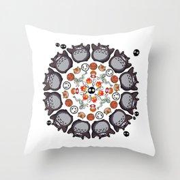 STUDIO GHIBLI MANDALA Throw Pillow