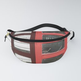 Old Telephone box Fanny Pack
