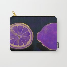 Sweet Purple Lemons Carry-All Pouch