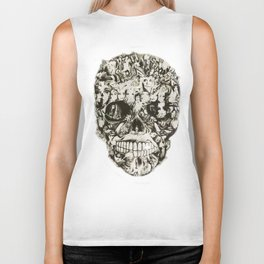 Feed my Soul, life full circle from a borderline view Biker Tank