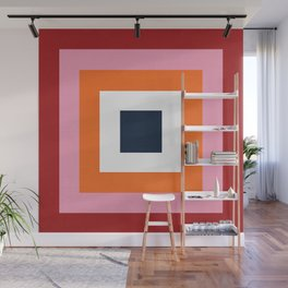 the squares  Wall Mural