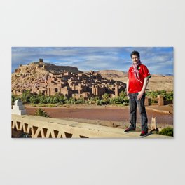 Number 11 - Oussama Assaidi - MOROCCO Canvas Print