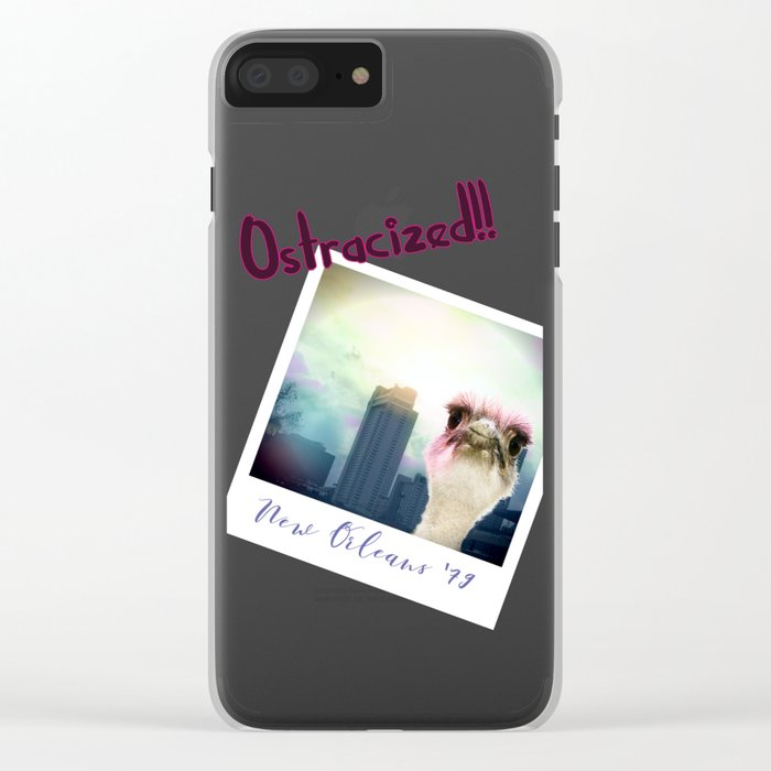 Ostracized in the City Clear iPhone Case