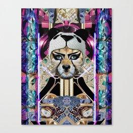 Leopard Pop Canvas Print