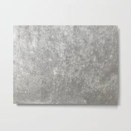 Gray Marble Metal Print
