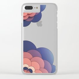 Floral // Border Clear iPhone Case