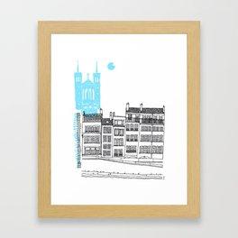 Lyon, France Framed Art Print