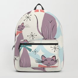 A Captivating Catalogue Of Classy Cats Backpack