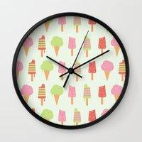 Ice Cream!!!  Wall Clock