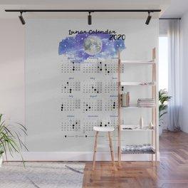 Moon calendar 2020 #10 Wall Mural