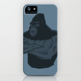 Grrr-illa iPhone Case