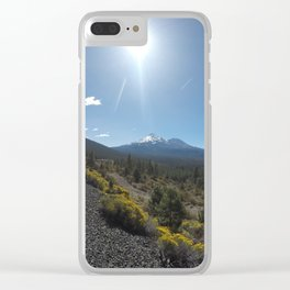 Mount Shasta Clear iPhone Case