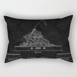 Marines Corps Memorial 2 Rectangular Pillow