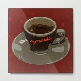 Espresso Metal Print