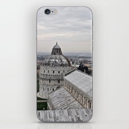 View From The Leaning Tower iPhone Skin