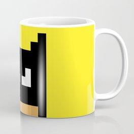 The Caped Crusader - Super Heroes in Pixel Coffee Mug