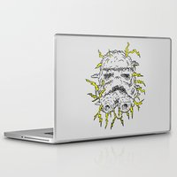 trooper Laptop & iPad Skins featuring Stormy Trooper by Jonah Makes Artstuff