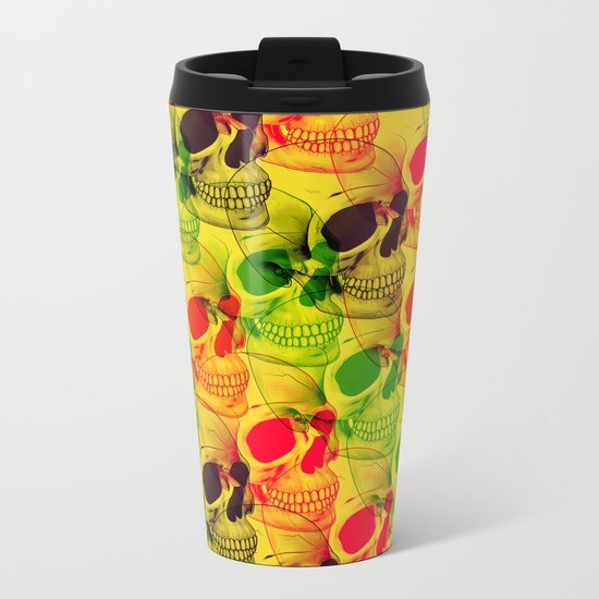 Skullfest Metal Travel Mug