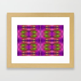 Electric Purle Framed Art Print