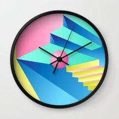 Pastel Paradise #004 Wall Clock