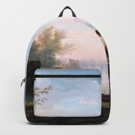 Claude Joseph Vernet - The Four Times Of Day, Morning - Digital Remastered Edition Backpack