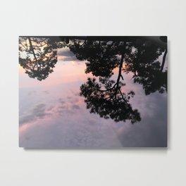 Pink Skies Metal Print