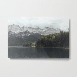 Slow days - Landscape Photography Metal Print
