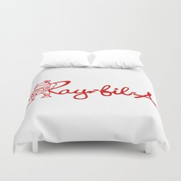 Ray Fillet's Ray-fil-A Duvet Cover