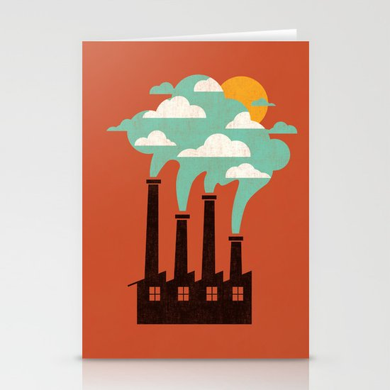 The Cloud Factory Stationery Cards